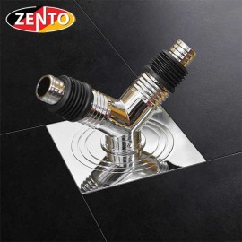 Phễu thoát sàn máy giặt chuyên dụng ZT501-C2 (100x100mm)