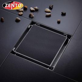 Thoát sàn chống mùi inox304 Zento TS133-1L (100x100mm)