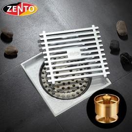 Phễu thoát sàn chống mùi & côn trùng ZT525-1AV (100x100mm)