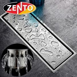 Thoát sàn chống mùi & côn trùng Zento ZT553-2U (110x300mm)