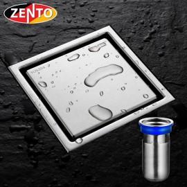 Thoát sàn chống mùi, côn trùng inox304 Zento ZT556 (110x110mm)