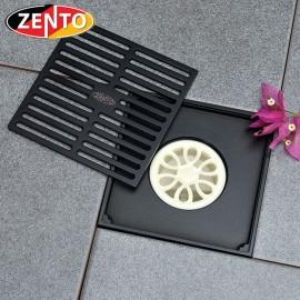 Thoát sàn chống mùi Black series  Zento ZT680-1B (150x150mm)