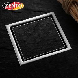 Thoát sàn chống mùi inox304 Zento TS134-1L (110x110mm)