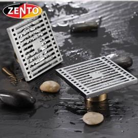 Phễu thoát sàn chống mùi và côn trùng Zento ZT525 (100x100mm)