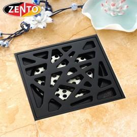 Phễu thu nước thoát sàn chống mùi Black series Zento ZT523
