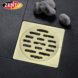Thoát sàn chống mùi & côn trùng inox Zento ZT542 100x100mm