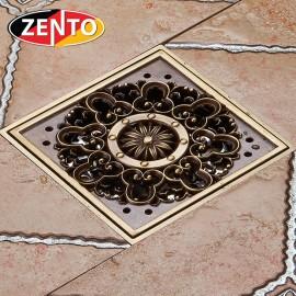 Thoát sàn chống mùi giả cổ 3D Zento ZT611