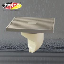Phễu thoát sàn chống mùi & côn trùng ZT5701-Brushed (120x120mm)