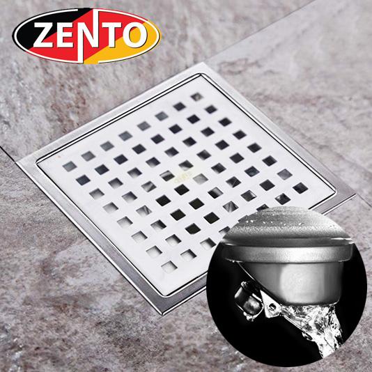 Thoát sàn chống mùi inox Square Zento ZT654-1L (150x150)