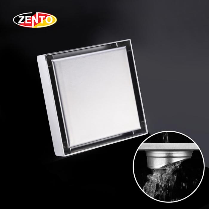 Thoát sàn inox 304 Zento TS137-1L (200x200mm)